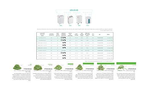 ideal. 2445 Continuous Operation Super Micro Cut Deskside Paper Shredder, 5-7 Sheet, Bin, 1/2 HP P-7