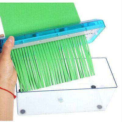Portable Paper Micro Cut Office Home Supplies
