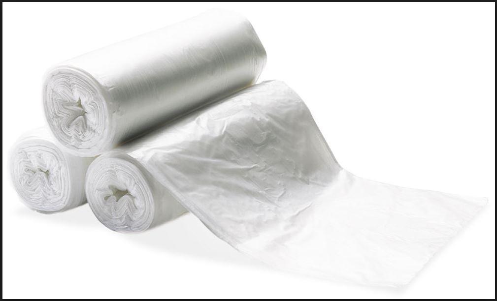 100 Trash Can Liner Bag Home Office Shredder Small Waste Gar