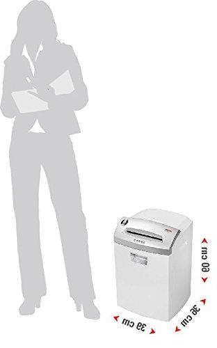 Intimus Model CC3, Cut Paper Level with - Staples, - On/Off and Reverse, Sheets Shredding Capacity