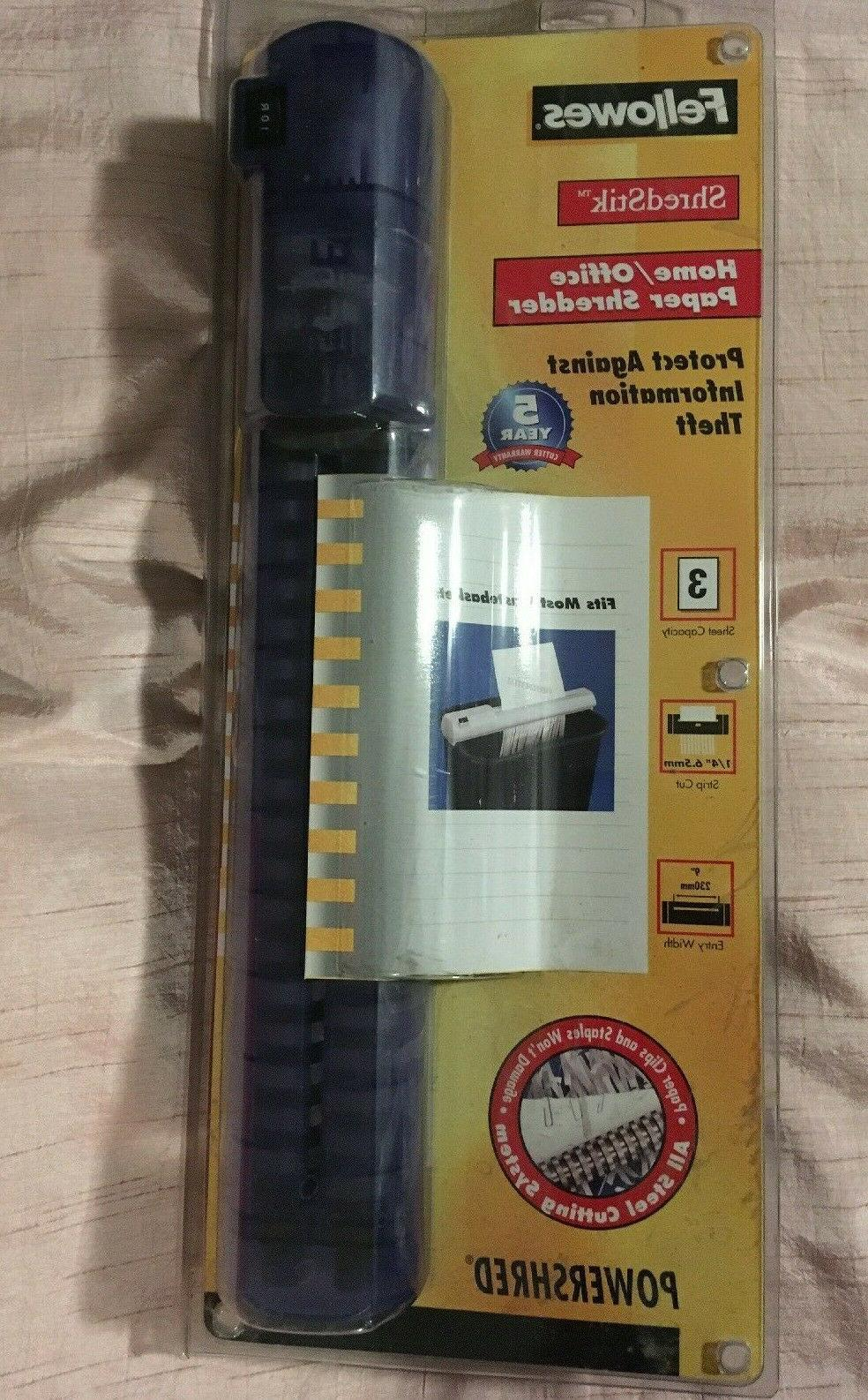34848 shredstik portable over bin strip cut
