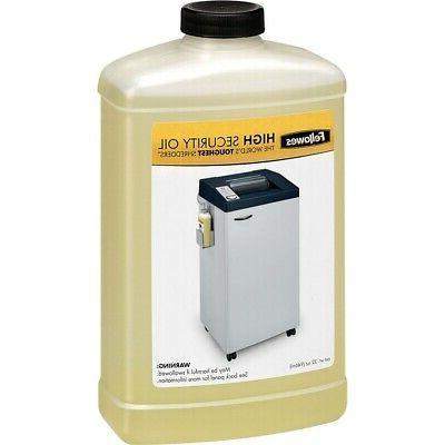 3505801 high security shredder lubricant