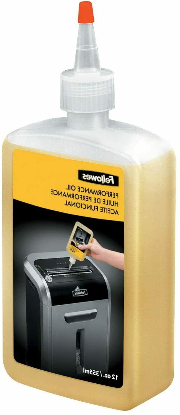 new 35250 powershred performance oil 12 oz
