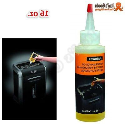 Fellowes 3525010 Powershred Lubricant Oil for Crosscut / Mic