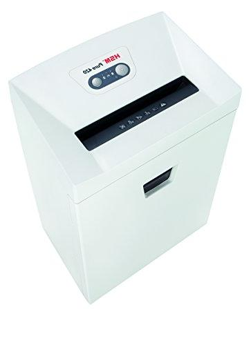 HSM Pure shreds up sheets; 9.2-Gallon Continuous Operation Shredder
