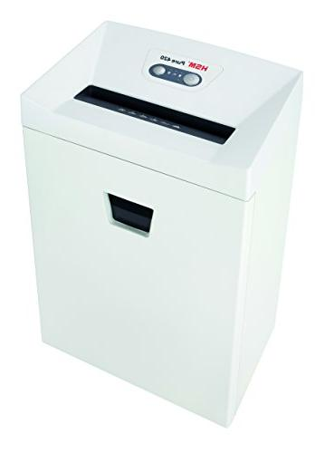 HSM Pure Strip-Cut; shreds sheets; 9.2-Gallon Capacity Continuous Operation