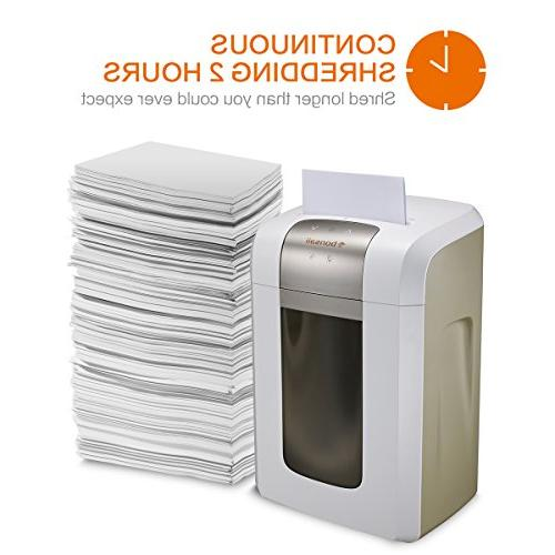 Bonsaii Shredder P-5 Security, Protection Wastebasket and