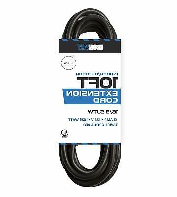 50 Black Extension Cord - Electrical