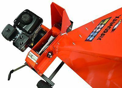 YARDMAX 6.5HP 4-Cycle Recoil Upright Chipper