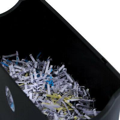 6 Credit Shredder with Basket US