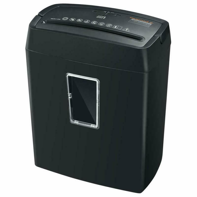 6-Sheet Cross-Cut High-Security P4 Shredders Window