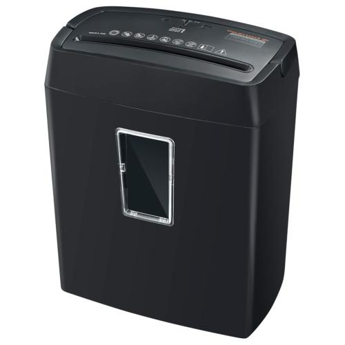 Bonsaii 6-Sheet Cross-Cut Paper Shredder, High-Security P4 O