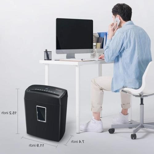 Bonsaii Cross-Cut Paper Shredder, Office Shredders with