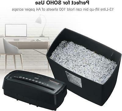 Bonsaii Cross-Cut Shredder, Shredders Office & Home Use,