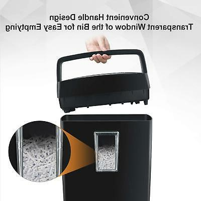 Bonsaii 6-Sheet Paper Shredder, Office Home