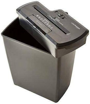 AmazonBasics 8-Sheet Strip-Cut CD, and Shredder