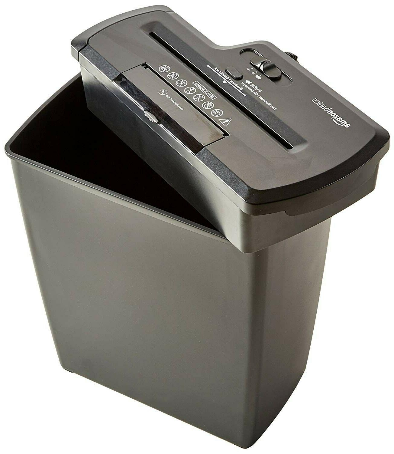 AmazonBasics CD and Card Home Office Shredder.