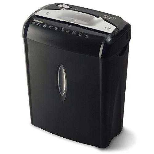 Aurora AU740XA Paper / Credit Shredder with Black