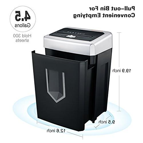 Bonsaii Heavy Duty Paper Shredder with Running