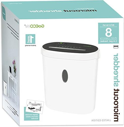 GoECOlife Limited Edition Paper Shredder