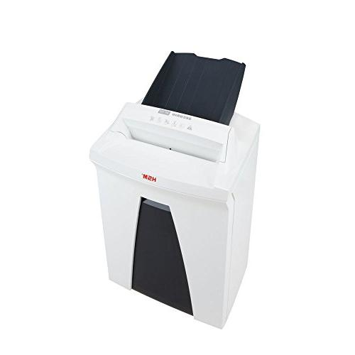 HSM SECURIO L4 Micro-cut automatic paper shreds up to 150 automatically/13 manually; 9 gallon