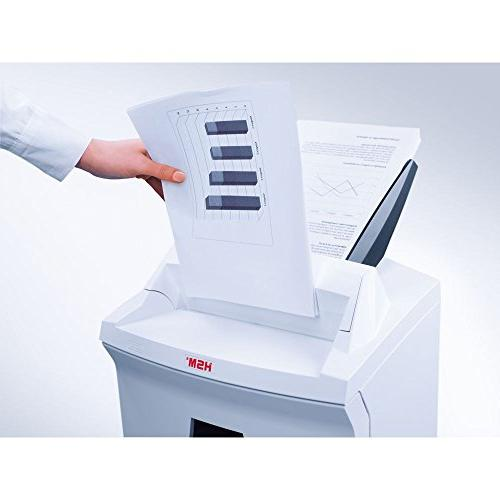 HSM AF150 L4 Micro-cut Shredder with automatic paper to 9 gallon capacity