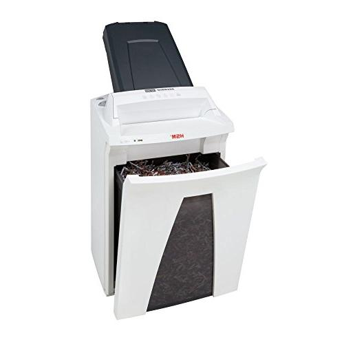 HSM Shredder with automatic feed; up 300 automatically/19 gallon