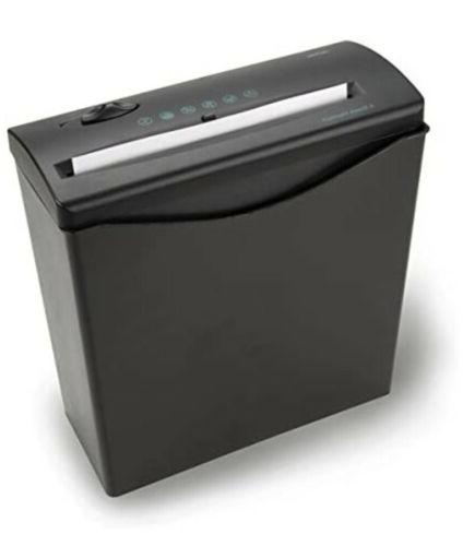 Royal - 5-sheet Strip Cut Paper Shredder - Black