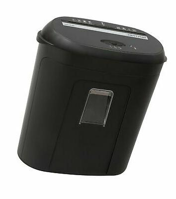 Sentinel - 10-sheet Microcut Paper Shredder - Black