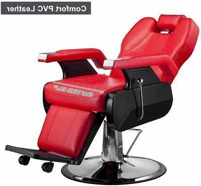 All Hydraulic Barber Salon Spa Shampoo Black/Red