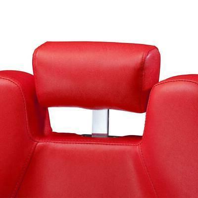 All Purpose Recline Barber Salon Spa Black/Red
