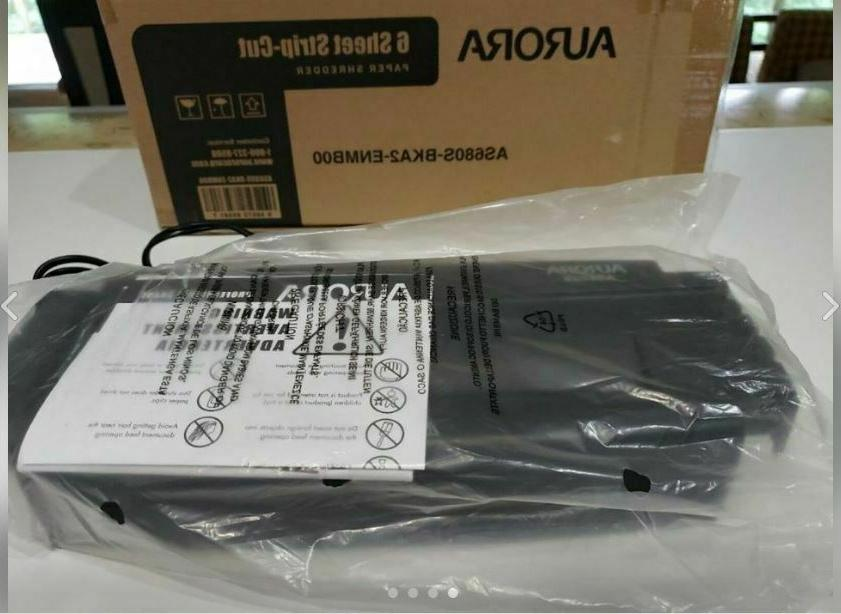 as680s professional strip cut paper shredder