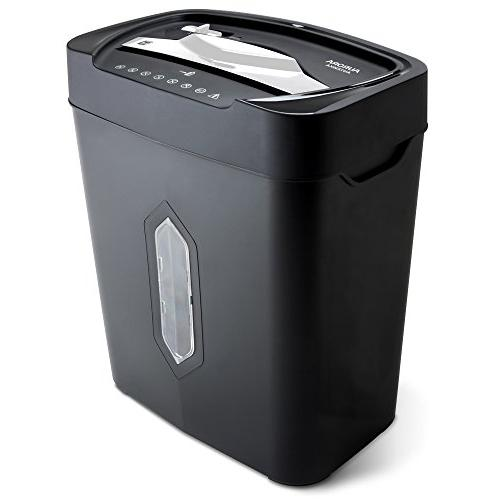 Aurora AU1230XA Anti-Jam Crosscut Paper Card Shredder 5.2-Gallon Wastebasket