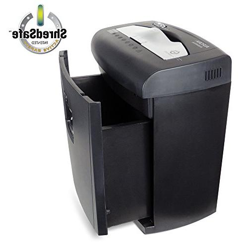 Aurora Professional Crosscut Shredder with Pullout Basket