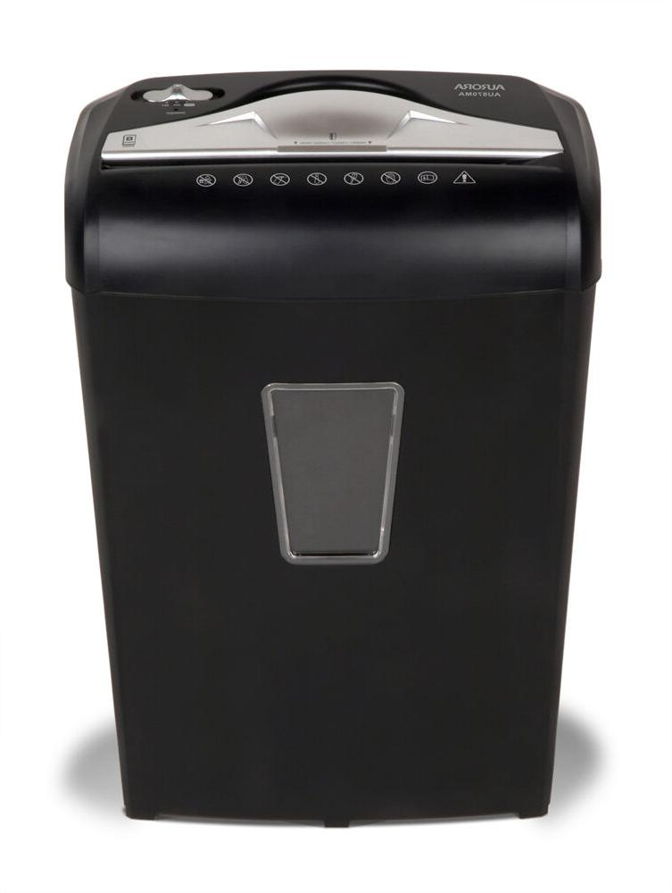 Aurora AU870MA Micro-Cut Paper, Credit Card Shredder