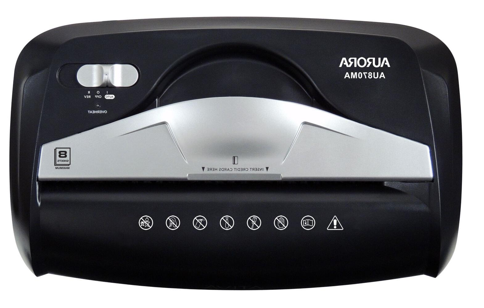 Aurora Micro-Cut Credit Card Shredder