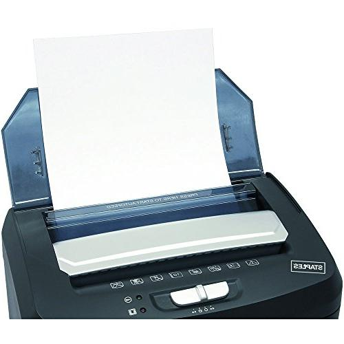 Staples 100-Sheet Shredder