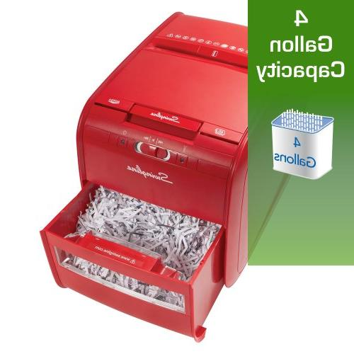 Feed, Cross-Cut, 1 Stack-and-Shred 60X,