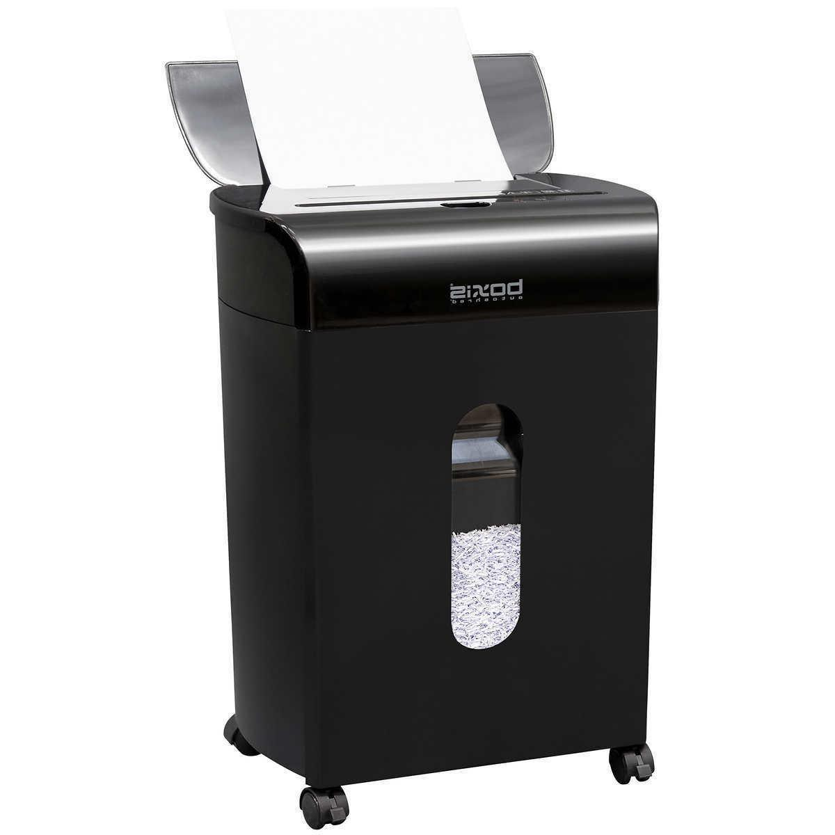 autoshred 100 sheet autofeed microcut shredder