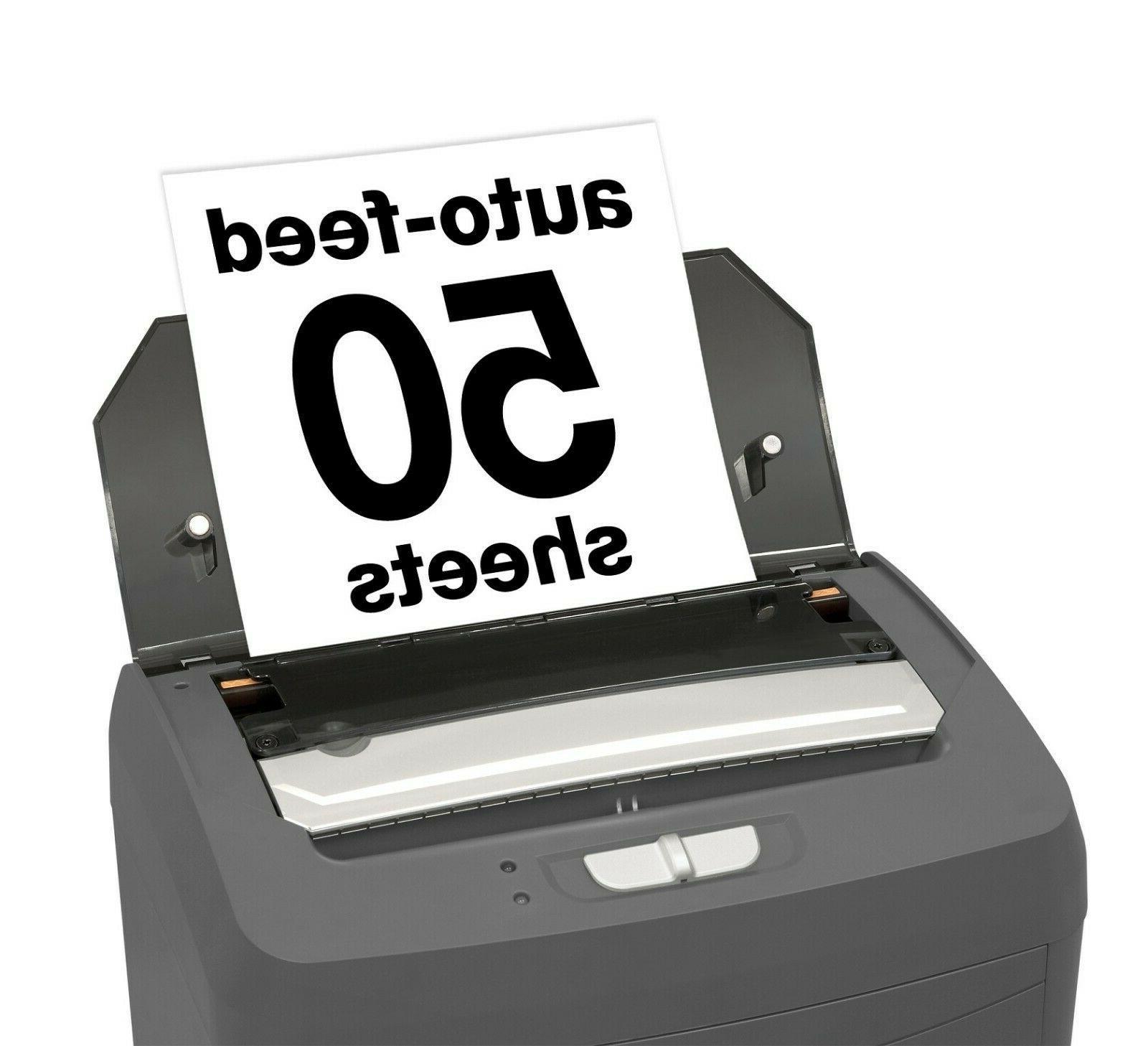 Boxis AutoShred 50-Sheet Feed Microcut Free