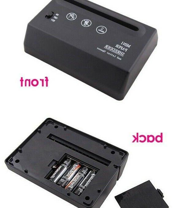 Black USB Battery Paper Home
