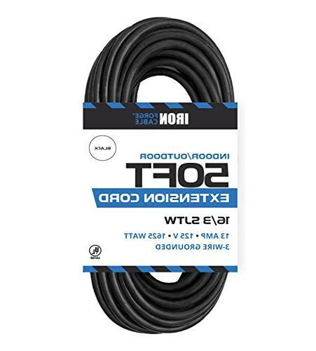 black extension cord