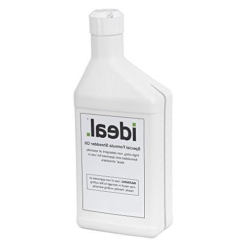 bottle shredder oil