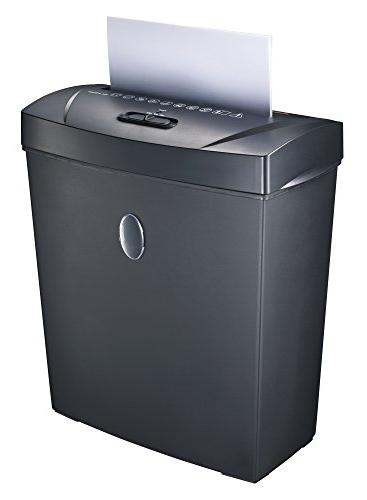 Bonsaii 8-Sheet Cross-Cut Paper Shredder, Overload and Thermal Protection