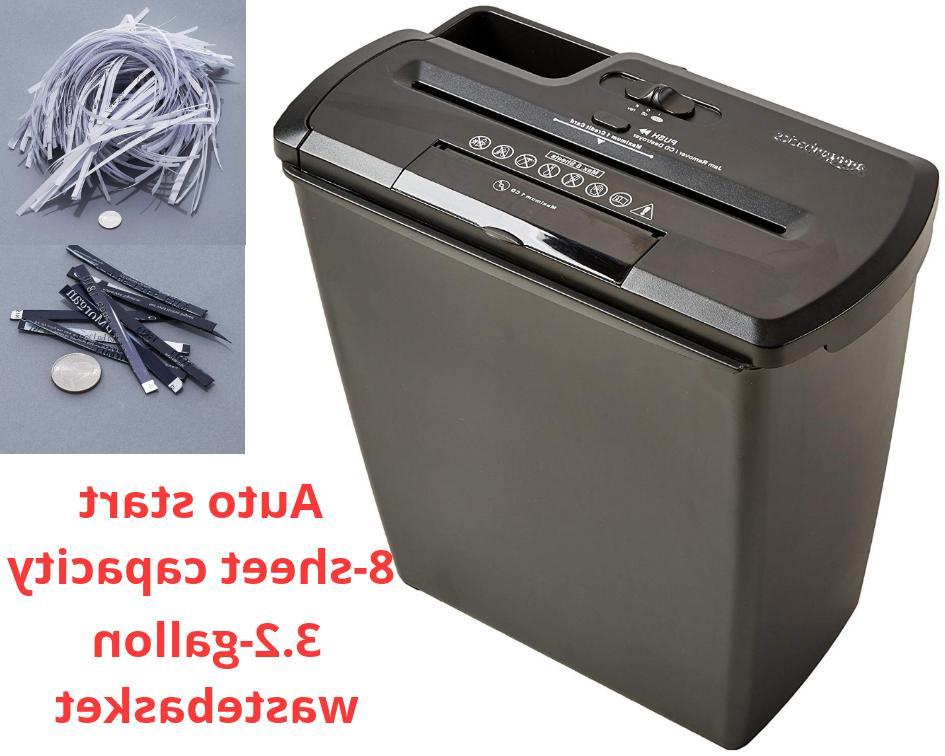 commercial office shredder paper destroy strip cut