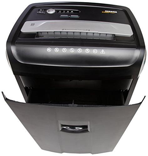 AmazonBasics Cross-Cut Paper, CD, Credit Shredder
