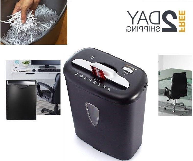 cross cut paper shredder destroy credit card