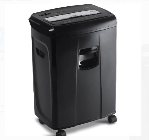 Crosscut Paper And Credit Card Shredder With Pullout Basket