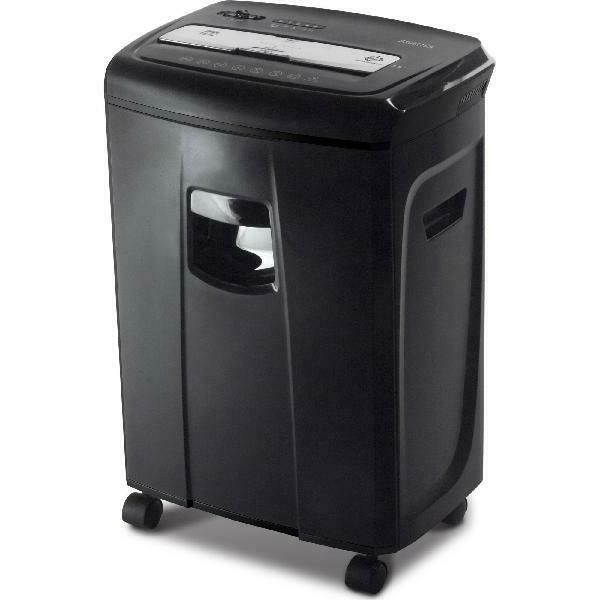 12-Sheet Crosscut Paper and Credit Card Shredder with 3.5 Ga
