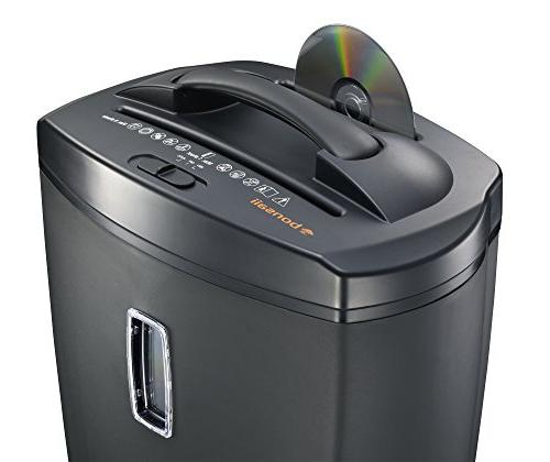 Bonsaii Micro-Cut Shredder, 5.5 Capacity, Basket Window